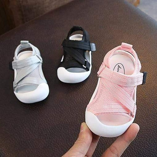 Shop Soft Non-Slip Mesh Baby Sandals - Blissful Baby Co