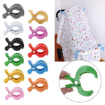Shop Stroller & Car Seat Cover Blanket Clips - Blissful Baby Co