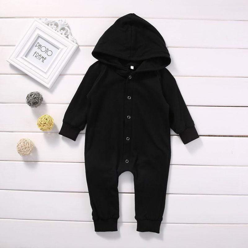 Shop Warm Baby Hooded Long Sleeve Romper - Blissful Baby Co