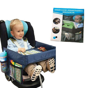 Shop Kiddie Car Seat Table with Organizer - Blissful Baby Co