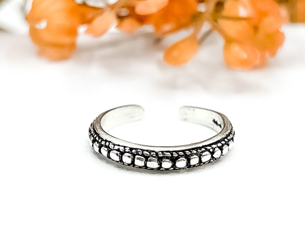 Beaded Toe Ring