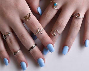 Anchor Toe Ring - Midi Ring