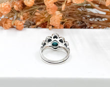 Load image into Gallery viewer, Beaded Boho Turquoise Ring