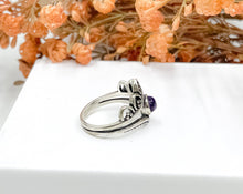 Load image into Gallery viewer, Boho Amethyst Ring