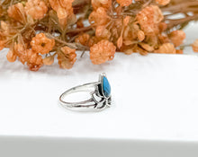 Load image into Gallery viewer, Blue Lotus Ring