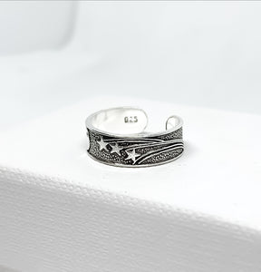 Moon and Stars Toe Ring