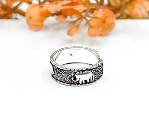 Elephant Toe Ring