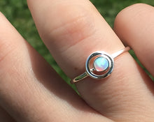 Load image into Gallery viewer, Circle Opal Ring