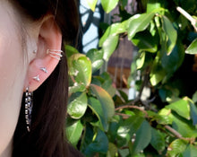 Load image into Gallery viewer, Whale Tail Stud Earrings
