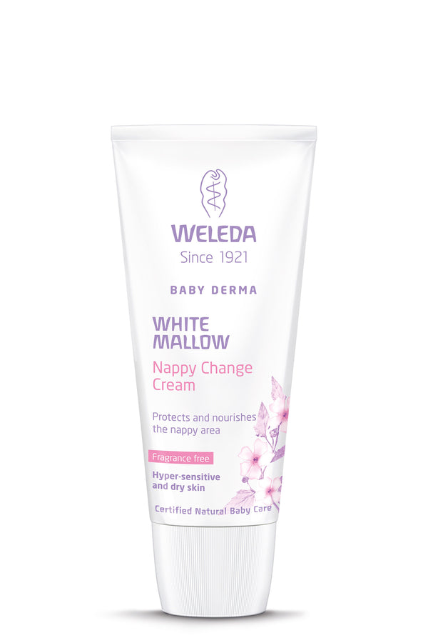 White Mallow Nappy Change