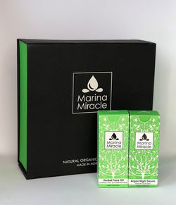 GIFTSET MARINA MIRACLE GET THE GLOW