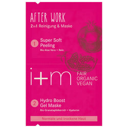 After Work 2in1 Mask Pomegranate Aloe