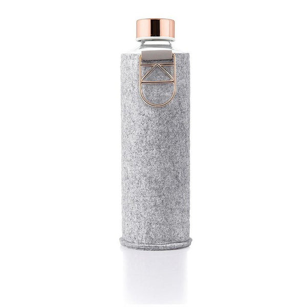 EQUA WATER BOTTLE - MISMATCH FELT ROSE GOLD