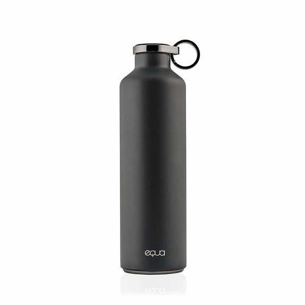 EQUA WATER BOTTLE - STAINLESS STEEL DARK GREY