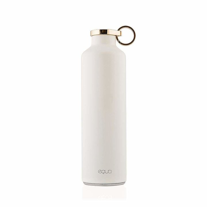 EQUA WATER BOTTLE - STAINLESS STEEL SNOW WHITE