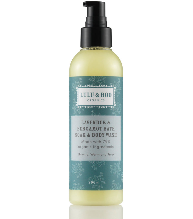 Lavender & Bergamot Bath Soak & Body Wash