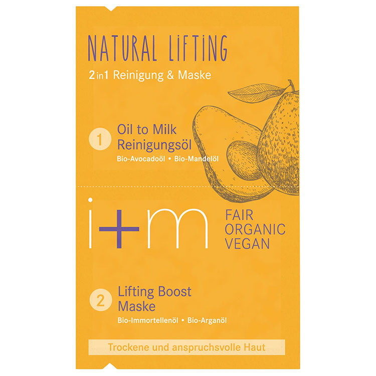 Natural Lifting 2in1 Mask Avocado Argan