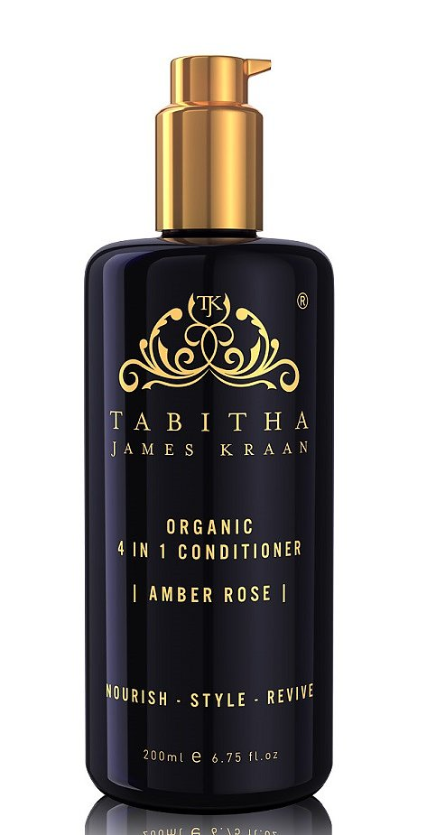 TABITHA JAMES KRAAN LUXURY EDITION AMBER ROSE 4-IN-1 CONDITIONER