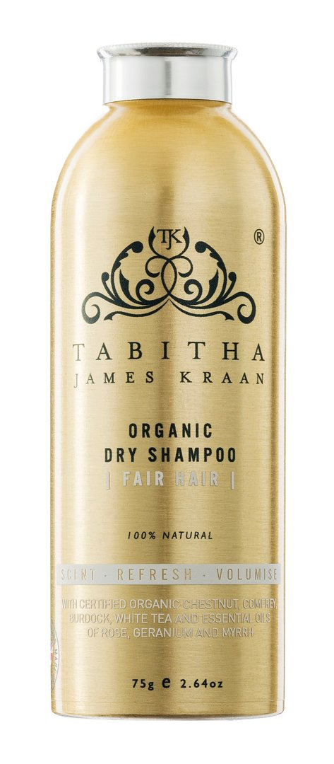 TABITHA JAMES KRAAN ORGANIC DRY SHAMPOO FAIR HAIR