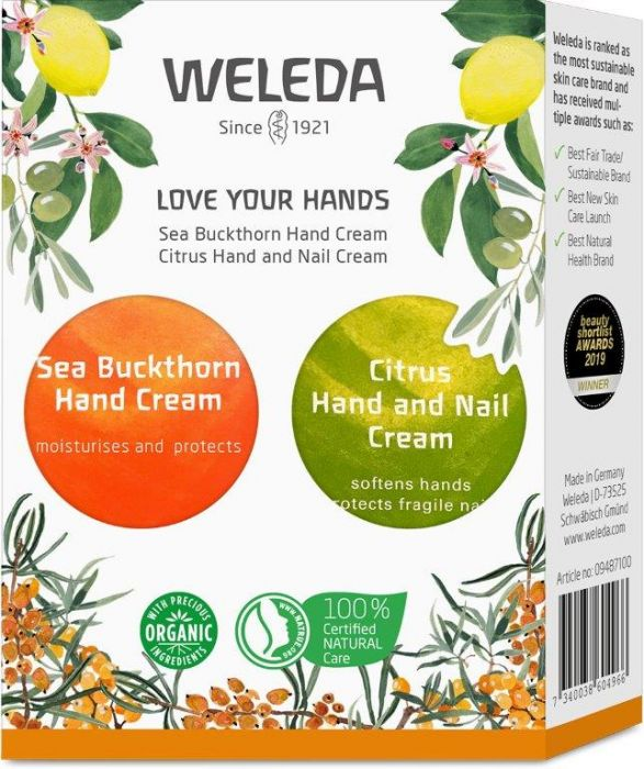 Love your hands - Weleda Giftset