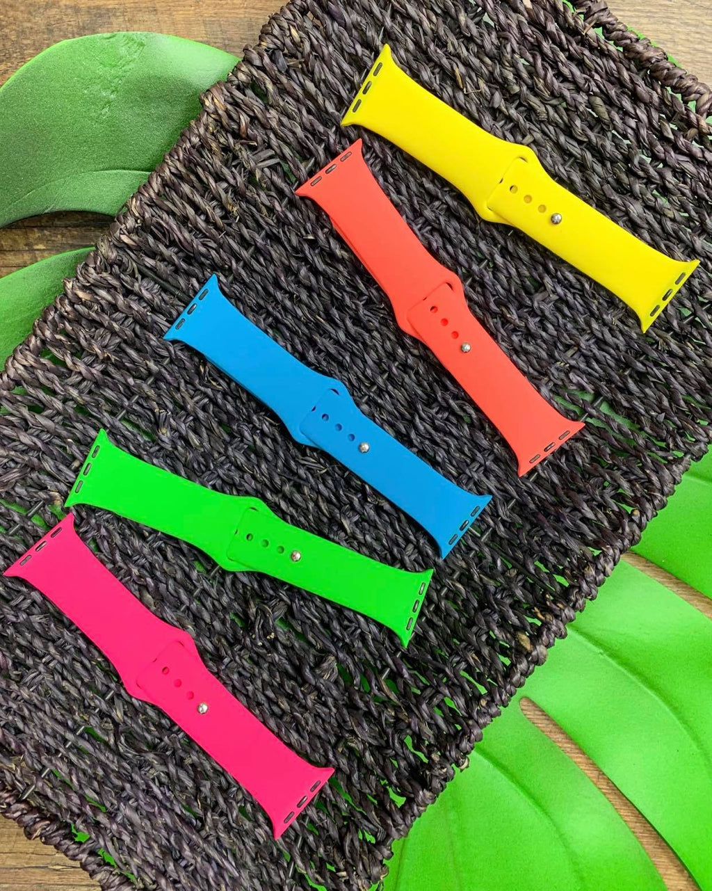 Solid Silicone Watchband