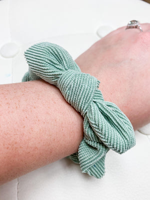 Knot Bow Scrunchie