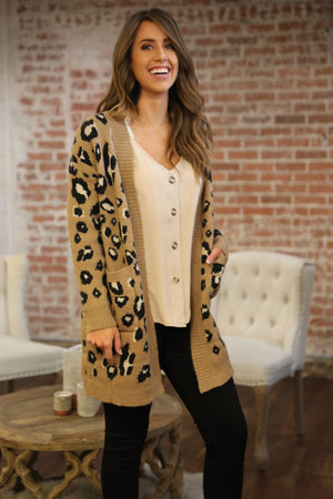 Cheetah So Chic Sweater