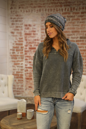 Real Chill Ribbed Pullover