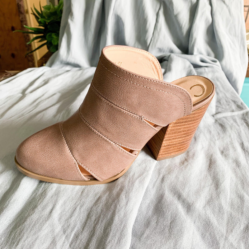 Faith Mule Bootie