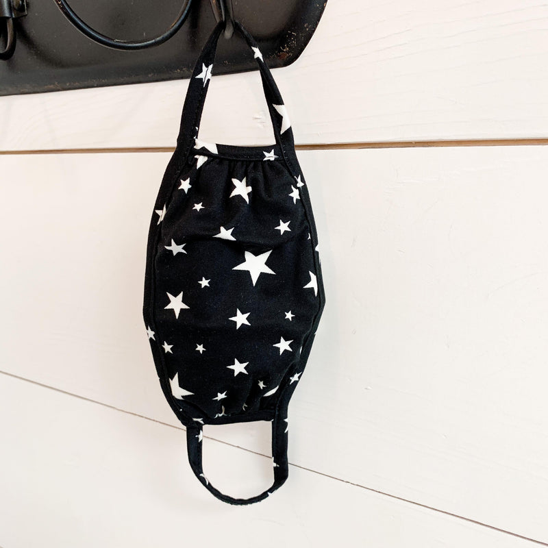 Stars Kids Fashion Face Mask