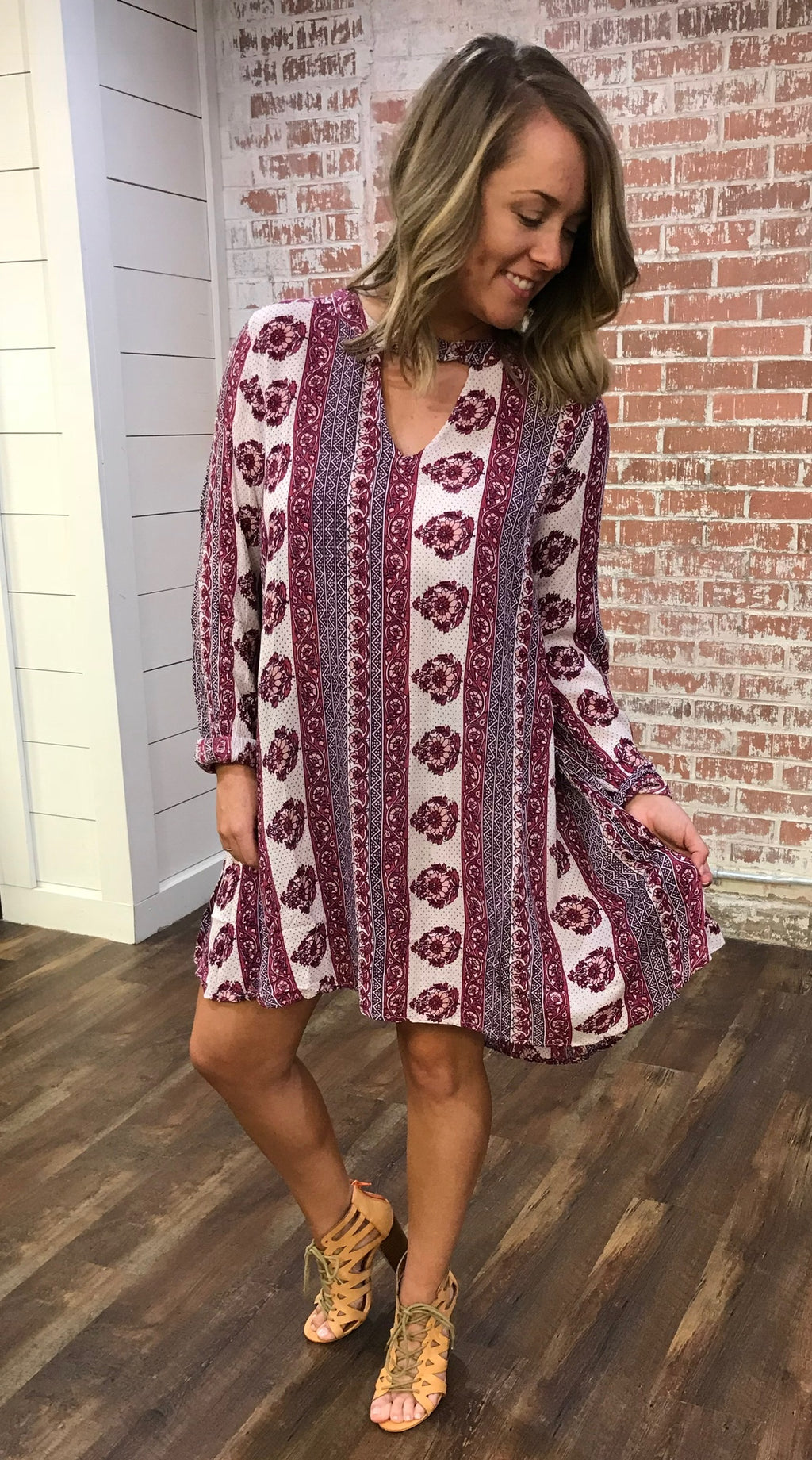 Pretty In Print Dress