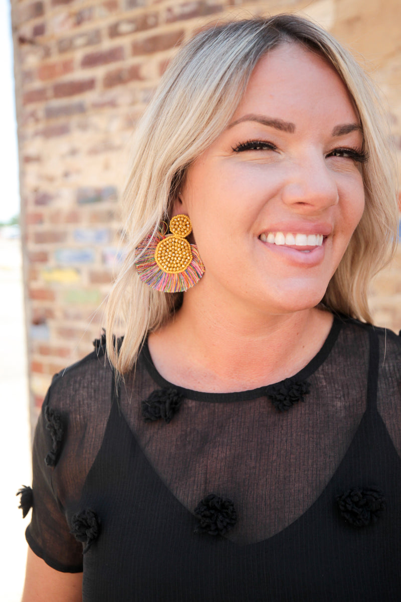 Trip Around The Sun Earrings