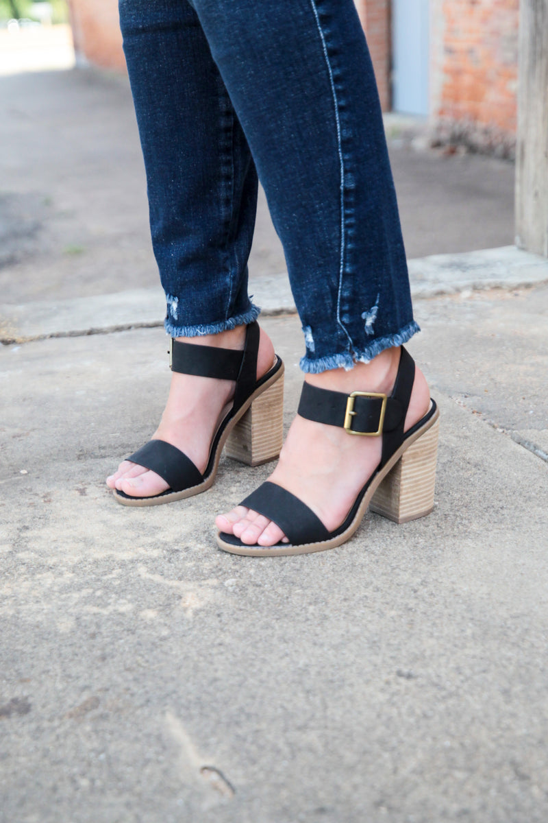 The Malvern Heeled Sandals