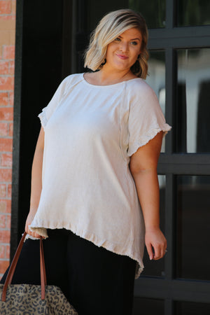 Blown Away By Love Curvy Top