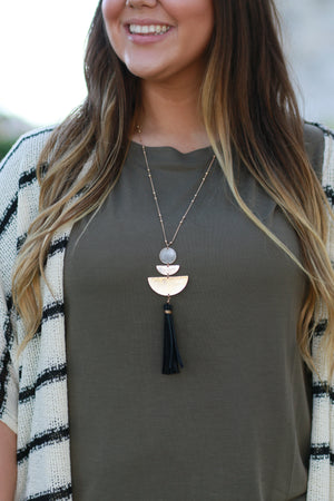 Brush With Beauty Necklace