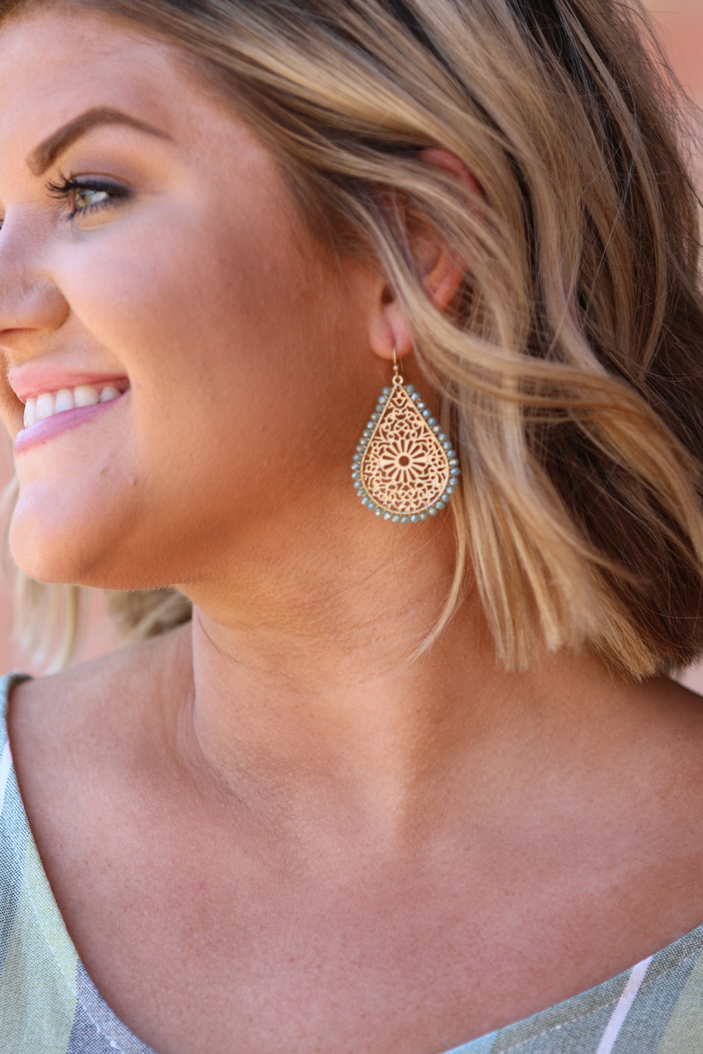 Intricate Details Earrings