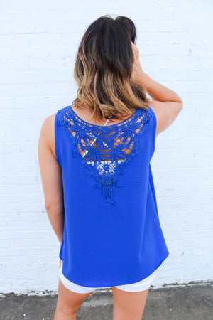So Into You Lace Tank