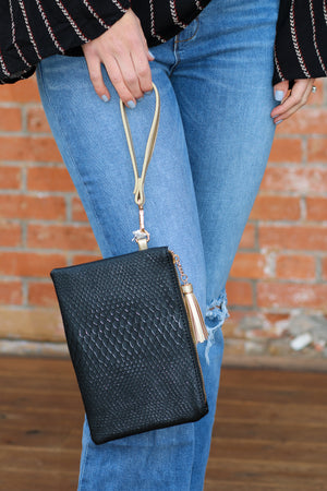 Ready, Set, Sparkle Wristlet