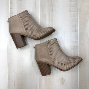Richie Perforated Bootie