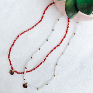 Cammy Crush Beaded Stretchy Necklace