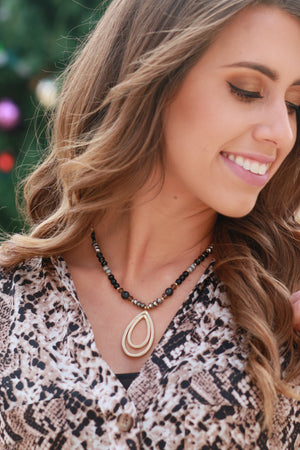 Dixie Beaded Necklace