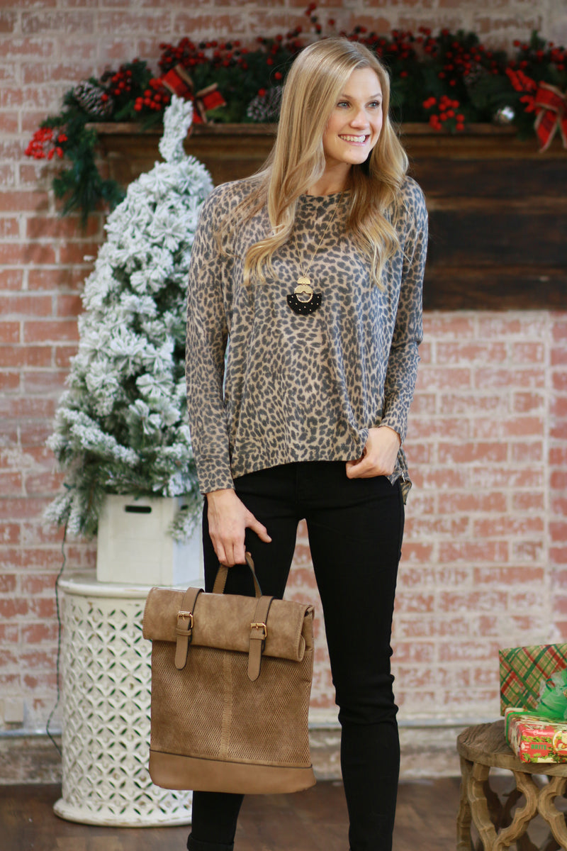 Endangered Beauty Leopard Sweater