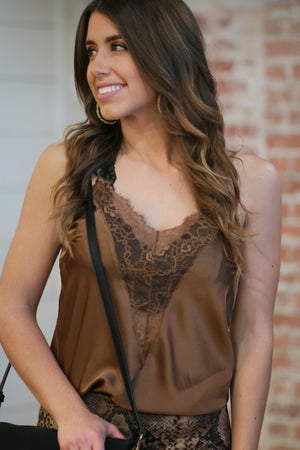 Slip into This Lace Tank Top