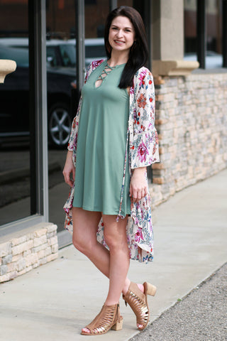 The Skye Trapeze Dress