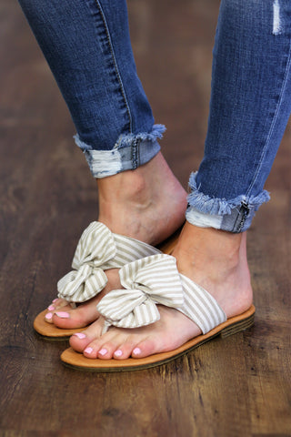 Tie The Knot Sandal