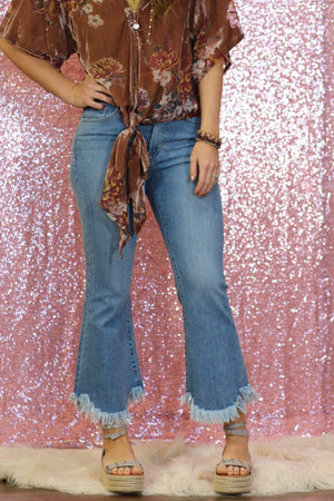 Ring My Bell Flare Jeans