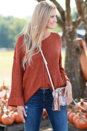 Fond Of Fall Sweater
