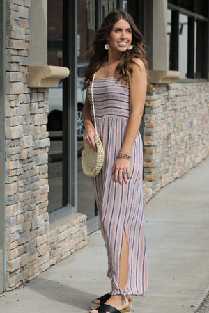 Behati Smocked Jumpsuit