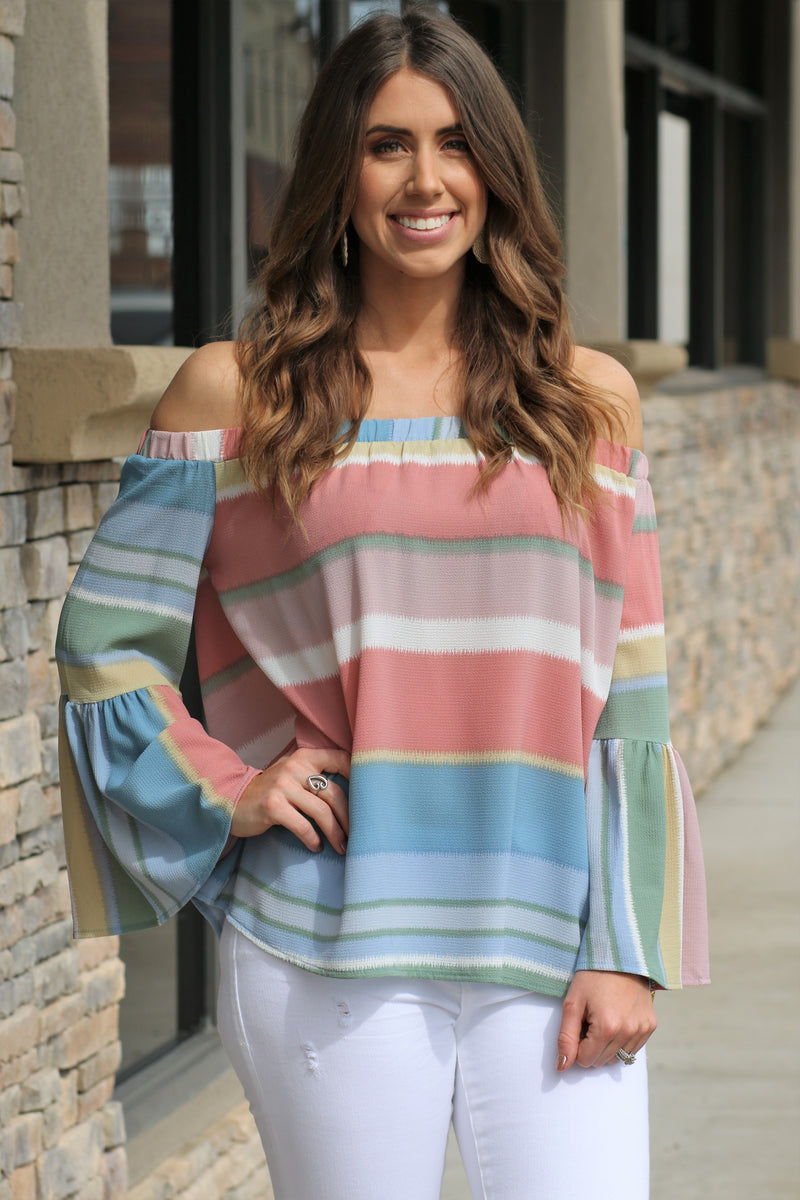 Naomi Striped Top
