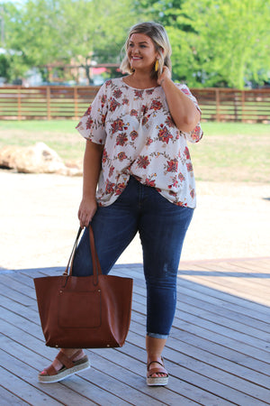 Blooming With Love Curvy Top